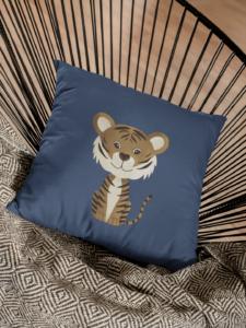 Kissen Tiger Monty