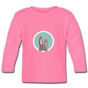 Langarm-Shirt mit einem Hase